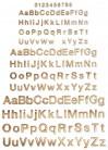 Fémbetűk Elegants